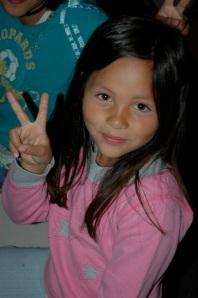 girl peace